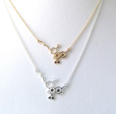 THC-CBD Molecule Necklace, Gold or Silver by piccadillypendants on Etsy https://www.etsy.com/listing/273188052/thc-cbd-molecule-necklace-gold-or-silver