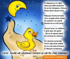 Poezie terapeutica: Ratusca curajoasa Obiective: depasirea fricii de intuneric, corectarea sunetului R Emotions Activities, Educational Activities For Kids, School Coloring Pages, Job Help, Kids Poems, Baby Play, Raising Kids, Kids Education, Nursery Rhymes