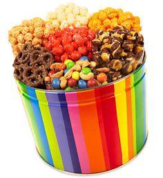 Bright Stripe 7-Way Snack