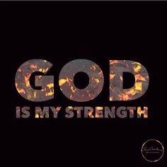 My whole strength