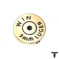 7 mm Dermal Anchor vergoldet Patrone Kugel in Materialstärke mm