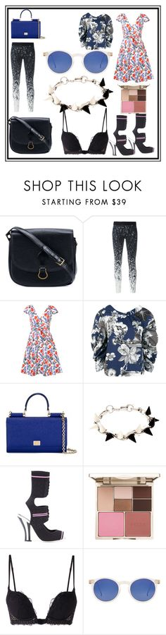 """Even if I'm completely unsure"" by denisee-denisee ❤ liked on Polyvore featuring Louis Vuitton, Reebok, Carolina Herrera, MSGM, Dolce&Gabbana, Joomi Lim, Fendi, Stila, La Perla and Spitfire"