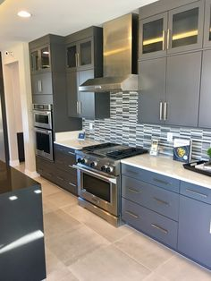 A New Home In Sumerlin Nevada Was Designed With Urban Effects Cabinetry The