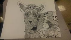 Lamb of God #Lamb #Zentangle