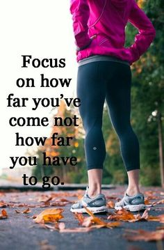 Focus on how far you've come fitness workout exercise workout motivation exercise motivation fitness quote fitness quotes workout quote workout quotes exercise quotes Citation Motivation Sport, Running Motivation, Weight Loss Motivation, Running Quotes, Exercise Motivation, Daily Motivation, Quotes Motivation, Running Tips, Motivation Boards