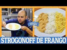 (9) COMO FAZER STROGONOFF DE FRANGO   Ana Maria Brogui #458 - YouTube