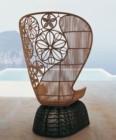 outdoor living with Italian sense of style | B&B Italia's new Crinoline outdoor furnishings collection
