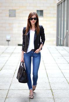BACK TO BASICS- Moto jacket