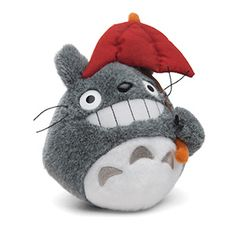 Little Totoro plush is ready to watch over you.