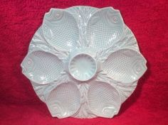 Add this beautiful French majolica oyster plate to your private collection or home decor today! Offers welcome.