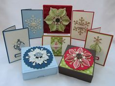 Cute Christmas boxes.