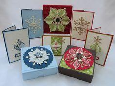 Cute Christmas boxes.