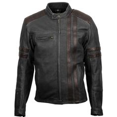 Scorpion 1909 Leather Mens Street Gear Motorcycle Jackets                                                                                                                                                                                 More