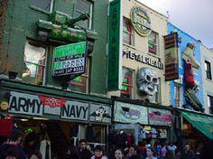 Camden Town, UK.