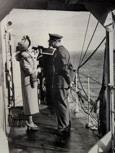 King George VI and Queen Elizabeth: Photo Queen Mother, Prince Of Wales, King George, British Royals, Queen Elizabeth, Historical Photos, England, Culture, History