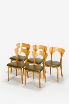 5 Niels Koefoed Peter Chairs Oak