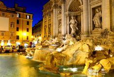 Trevi kút, Róma, Olaszország