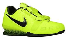 Nike Romaleos II Power Lifting Shoes Volt/Sequoia 15 >>> Continue to the product at the image link. (This is an affiliate link) Weight Training Shoes, Weight Lifting Shoes, Mens Training Shoes, Ankle Sneakers, Slip On Sneakers, Leather Sneakers, Sneakers Nike, Powerlifting Men, Weightlifting