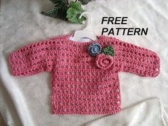 mesh crochet sweater free pattern