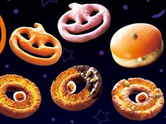 Mister Donuts Halloween donuts