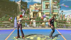 Vídeo gameplay de The King of Fighters XIV con Vanessa contra Ramon.
