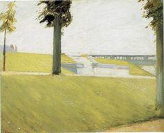 Edward Hopper (1882-1967), Le Parc de Saint-Cloud, ca. 1907.