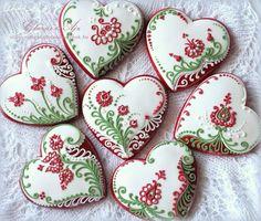 hand painted sugar cookies - Julia Usher - Google Search