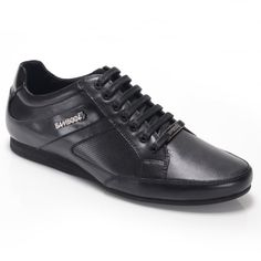 Trento M102604 Black Great Mens Fashion, Trainers, Bamboo, Sneakers, Sports, Leather, Shopping, Black, Tennis Sneakers