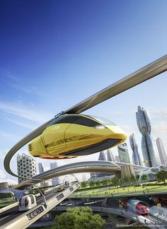 Urban Futuristic [Futuristic Vehicles: http://futuristicnews.com/category/future-transportation/]