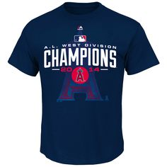 d9d139f90ad Los Angeles Angels of Anaheim 2014 AL West Division Champions All For Glory  T-Shirt · Angels BaseballTeam ...