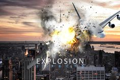 Explosion Effects by GrDezign Studio on Creative Market