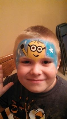 Minion Face Paint, Make Up Art, Face Painting Designs, Minions, Projects To Try, Halloween Costumes, Party Ideas, Fall, Disney