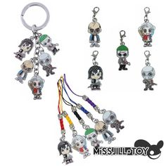 3styles Batman Suicide Squad The Joker Harley Quinn metal pendants key chain //Price: $15.81 & FREE Shipping //     #dccomics  #cosplay  #catwoman #comiccon #comics #love #quinn #justiceleague #makeup Margot Robbie Harley Quinn, Joker And Harley Quinn, Key Fobs, Key Chain, Jared Leto Joker, Captain Boomerang, Killer Croc, Comic Book, Squad