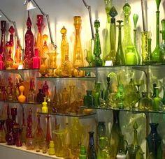 Esteban Interiors - Vintage glass