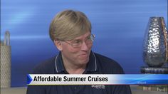 I was a guest on the Jacksonville Fl Channel 4 Morning Show talking about cruises!