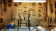 Wishbone Chair Walnut & Natural Paper Cord Seat - Natural Wood Wishbone Chair Collection - Wishbone Chair Collection - Carl Hansen & Søn - Brands - The Conran Shop Monocle Magazine, Wishbone Chair, Danish Design, Designer, Sons, Ceiling Lights, Furniture, Life, Inspiration
