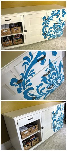 Paint your project using a Projector!  DIY Step by Step Tutorial - Pretty Baby Changing Furniture Makover!   Reality Daydream
