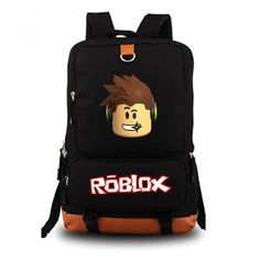Roblox Backpack. New LevOn Roblox Backpack Durable Spacious Premium Backpack  Teenagers Kids Boys Children Student School Travel Laptop Bags ... 1b5a5a7745a72