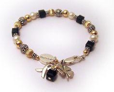 Melanoma Awareness Bracelets | melanoma awareness bracelet melanoma survivor bracelet this bracelet ...