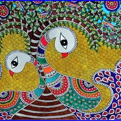 tree of life madhubani painting - Google Search