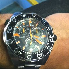 My new  #rotarywatches gift from the rotary team after filming their new commercial