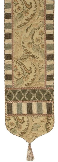 Luxury Bedding Solutions - Contessa 16x90 Table Runner 2605, $242.99 (http://www.luxurybeddingsolutions.com/contessa-16x90-table-runner-2605/)