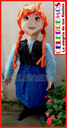Piñata de Ana de Frozen