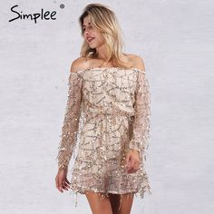 Price: $18.99 Like and Share if you want this     Get it here ---> https://www.yamidoo.com/simplee-apparel-sexy-off-shoulder-sequin-tassel-summer-dress-2016-beach-party-short-dress-women-backless-vintage-dress-vestidos/    #fashion