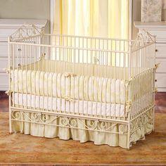 Casablanca Crib in Antique White by Bratt Decor