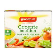 Zonnatura Biologische groentebouillon tabletten 66 g | AH.nl
