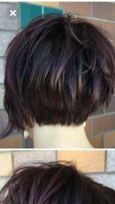 Modern Bob Hairstyles, Short Layered Haircuts, Great Hairstyles, Cute Hairstyles For Short Hair, Short Hair Styles, Bobs For Thin Hair, Short Hair With Layers, Short Hair Cuts For Women, Corte Bob