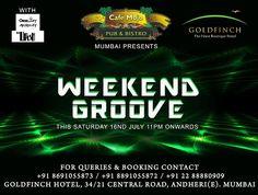 Enjoy the #SaturdayNight Weekend Groove only at CafeMojo Mumbai #WeekendParty #Party #Parties #NightLife