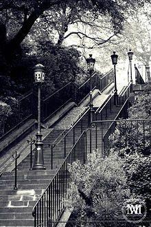 Escaliers Montmartre, Paris