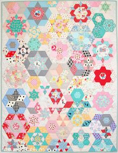 Tied with a Ribbon: Smitten Quilt - English Paper Piecing Adventure